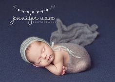 Newborn photo prop set Mohair wrap Knit by MoonlightLittleKnits
