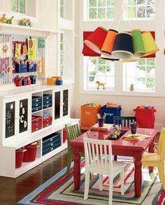 Knutselruimte voor kids