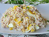 Riso freddo con zucchine prosciutto e philadelphia, delicato, leggero,e molto gustoso, un primo piatto di riso semplice da gustare anche in spiaggia