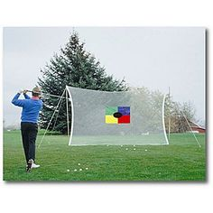 Having one of those lazy summer days? Forget driving to the course and the range. MAKE backyard golf HAPPEN this summer and perfect your swing.