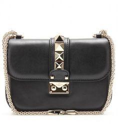 Lock Leather Shoulder Bag - Lyst
