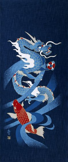 Noren japanese curtain tapestry interior doorway gradation sakura japanese noren panel indigo blue curtain indigo noren curtain indigo japanese fabrics dragon fabric wall tapestries wall fabric panel fandeluxe Gallery