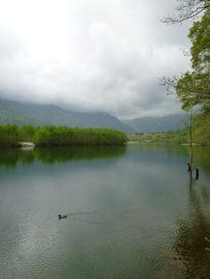 """""""Taishoike""""(Lago), Kamikochi, Matsumoto(Nagano) , Japan (Giugno)"""
