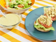 Get Chicken Salad with Caesar Dressing Recipe from Food Network