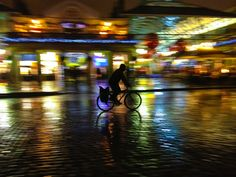 Covent Garden Cyclist by Sei Shibahara, via 500px