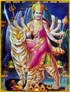 Goddess Parvati, Durga, Ambika