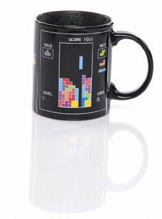 TETRIS - Mug thermo-réactif: Amazon.fr: Cuisine & Maison