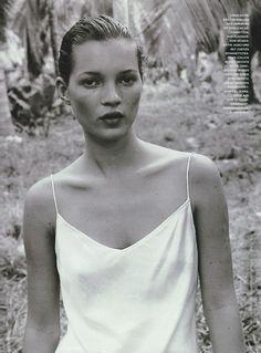 Kate in Calvin Klein by Juergen Teller, 1994