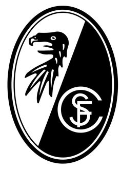 SC Freiburg Germany Soccer Football Car Bumper Sticker Decal x Bundesliga Logo, Fifa, Hamburger Sv, Car Bumper Stickers, Sports Clubs, Sports Logos, Logo Nasa, Football Soccer, Soccer Teams