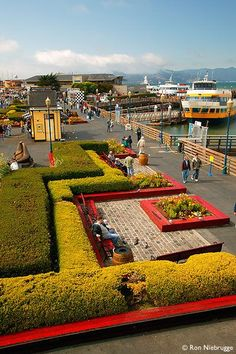 Fisherman's Wharf and Pier 39, San Francisco, California