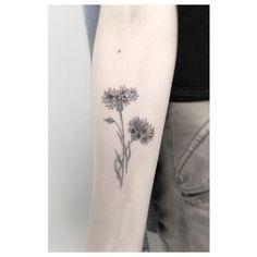 flower power ************************************ #cornflowers #tattoo #black #bw #noir #poznan #minimalist #minimalism #design #fineline #finelinetattoo #btattooing #new #jakubnowicztattoo #singleneedle #blacktattooart #blacktattoo