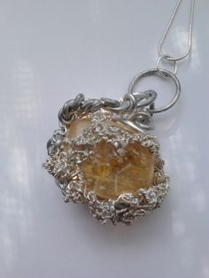 Designer hand-made pendant by Sonya Deevy, Toronto, Canada