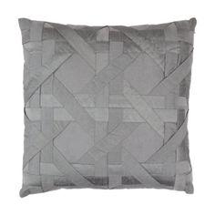 Aviva Stanoff Decorative Lattice Pillow Sale up to 70% off at Barneyswarehouse.com