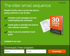 Beautiful-Email-Newsletters.com - Email Sign-up Lightbox Popover Example
