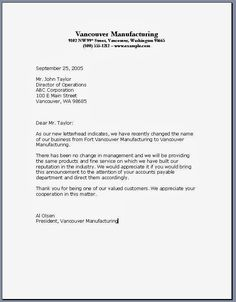printable sample business letter template form business agreement sample letter