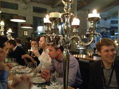 Dinner Restaurant LOKAL, Lokremise St.Gallen, Switzerland