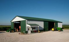 Machine Storage for Farm Implements | Colfax, Indiana | FBi Buildings