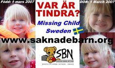 6yr old Tindra Johansson from Sweden has been kidnapped by her noncustodial mother, have you seen her ?