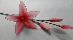 DIY Nylon Lily Flower