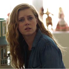 This extraordinarily powerful look of realization. The monster is my half sister. Amy Adams as Camille Preaker in Sharp Objects by Gillian Flynn Show Runner, Big Twist, Gillian Flynn, Sharp Objects, Gone Girl, Perfect Sense, Amy Adams, Actors & Actresses, Tv Shows