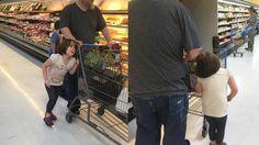 Sadis! Anak Berulah Saat Berbelanja di Supermarket, Ayah Lakukan Tindakan Ini…