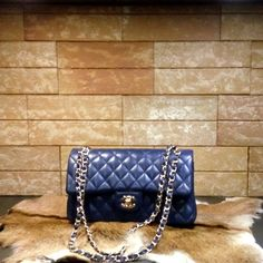 Chanel handbag 2.55 (blue)