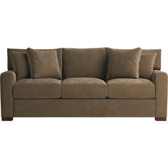 Axis 3-Seat Queen Sleeper Sofa in Sofas | Crate and Barrel