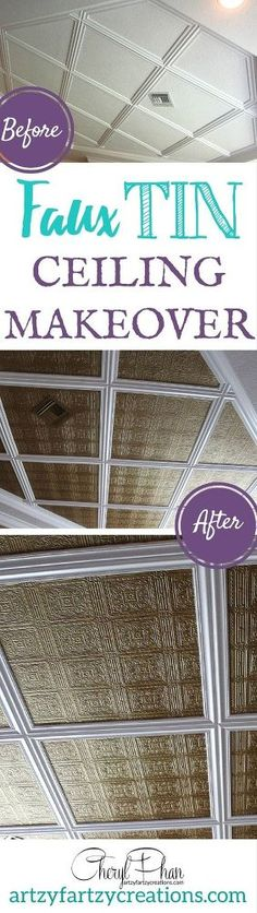 This will make your ceilings look amazing - on the cheap!