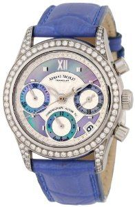 Only 1 Left Armand Nicolet Women's 9154L-AK-P915VL8 M03 Classic Automatic Stainless-Steel with Diamonds Watch