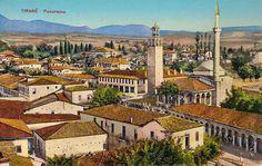 Tirana_Old_Postcard. Albania