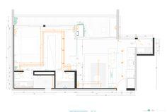 Apartamento com partições,Planta