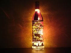 """Last chance to enter your email and win this original """"Ravens for the Cure""""  bottle art! http://bmorechix.com/2012/09/22/bmorechix-giveaway-celano-painting-design-original/"""