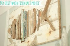 easy craft idea with driftwood
