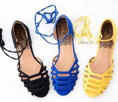 the latest 208b2 36cb2 Women s Sandals Open Toe Cutout Dorsay Lace Up Flat Sandal Faux Suede Shoes  New   eBay