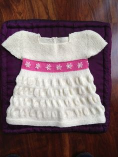 Ravelry: Tea Party Frock free pattern by Justine Turner