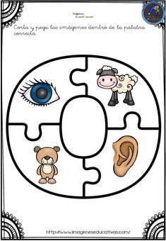 Aprendemos las vocales con este divertido puzzle - Imagenes Educativas Letter Activities, Interactive Activities, Literacy Activities, Learning English For Kids, Kids Learning, Preschool Math, Preschool Worksheets, Transitional Kindergarten, Bilingual Education