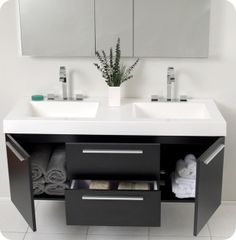 Simple thin on your bathroom that no need much spaces of your floor and room that is floating bathroom vanity. The floating vanity for bathroom has comes with variety of the design and on...