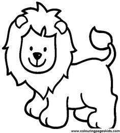 1000 images about simple coloring pages on pinterest coloring zoo animal