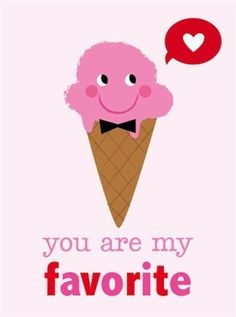 Valentine Cards by Amy Cartwright, via Behance