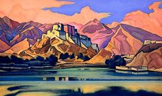 Roerich Paintings | Catalog of Roerich paintings in Himachal to be verified