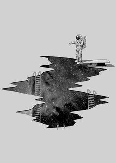 Nicebleed Space Diving http://nicebleed.tumblr.com/