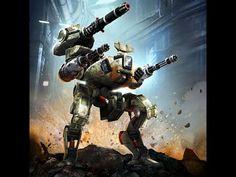 Walking War Robots мультиплеер командная игра на Android iOS