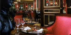 Our Fave Lounge; Napoleon's Cigar Lounge at the Paris Hotel, Las Vegas. Paris Hotel Las Vegas, Las Vegas Trip, Las Vegas Hotels, Paris Hotels, Vegas Shows, Champagne Bar, French Decor, Hotel Deals, Napoleon