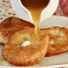 Recipe for Hot Buttered Scones and Buttermilk Syrup