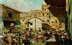 Telemaco Signorini - The Old Market, Florence (photo Wikimedia Commons)