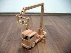 Tilly el camión cubo de utilidad camión de juguete por TrickTruck