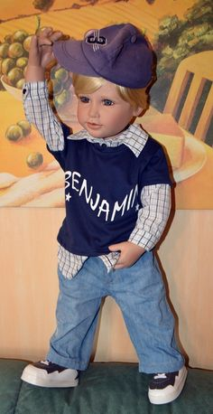 Benjamin by Susan Lippl, Masterpiece Dolls Collection, photo by Eli.A.F.