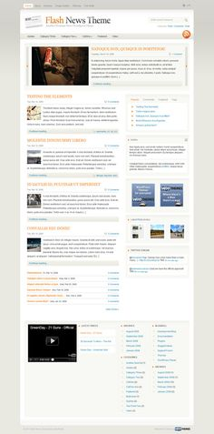 live wire premium wordpress theme by woothemes