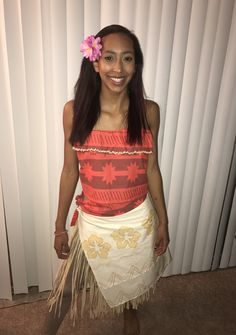 Moana DIY costume