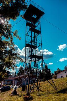Observation tower in Käsmu village, Estonia